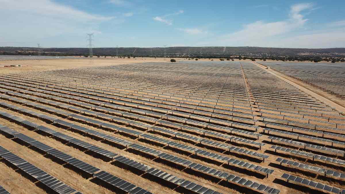 Planta fotovoltaica de Endesa, uno de los líderes de renovables en España