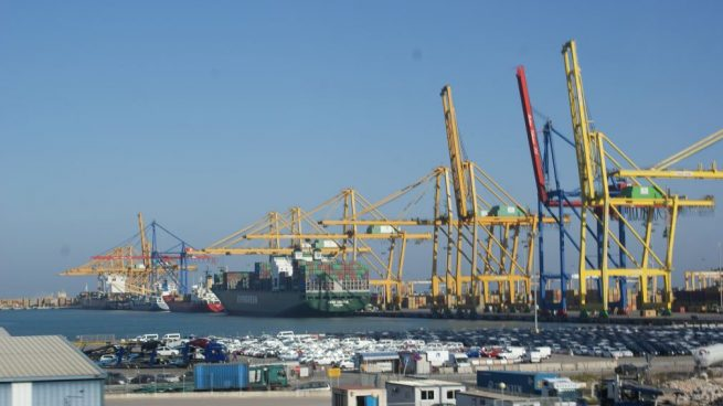 Puerto de Valencia, perteneciente a Puertos del Estado