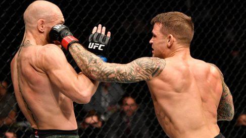 McGregor cayó por primera vez por KO. (Getty)