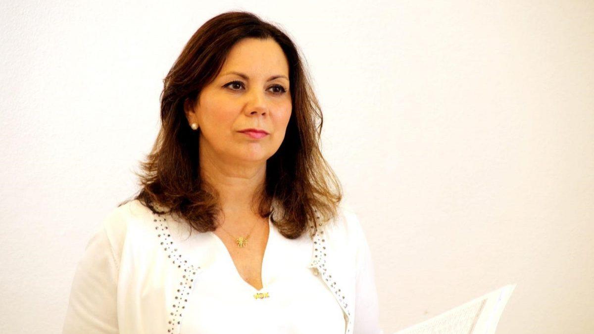 Angela Mulas, parlamentaria de Vox por Cádiz.