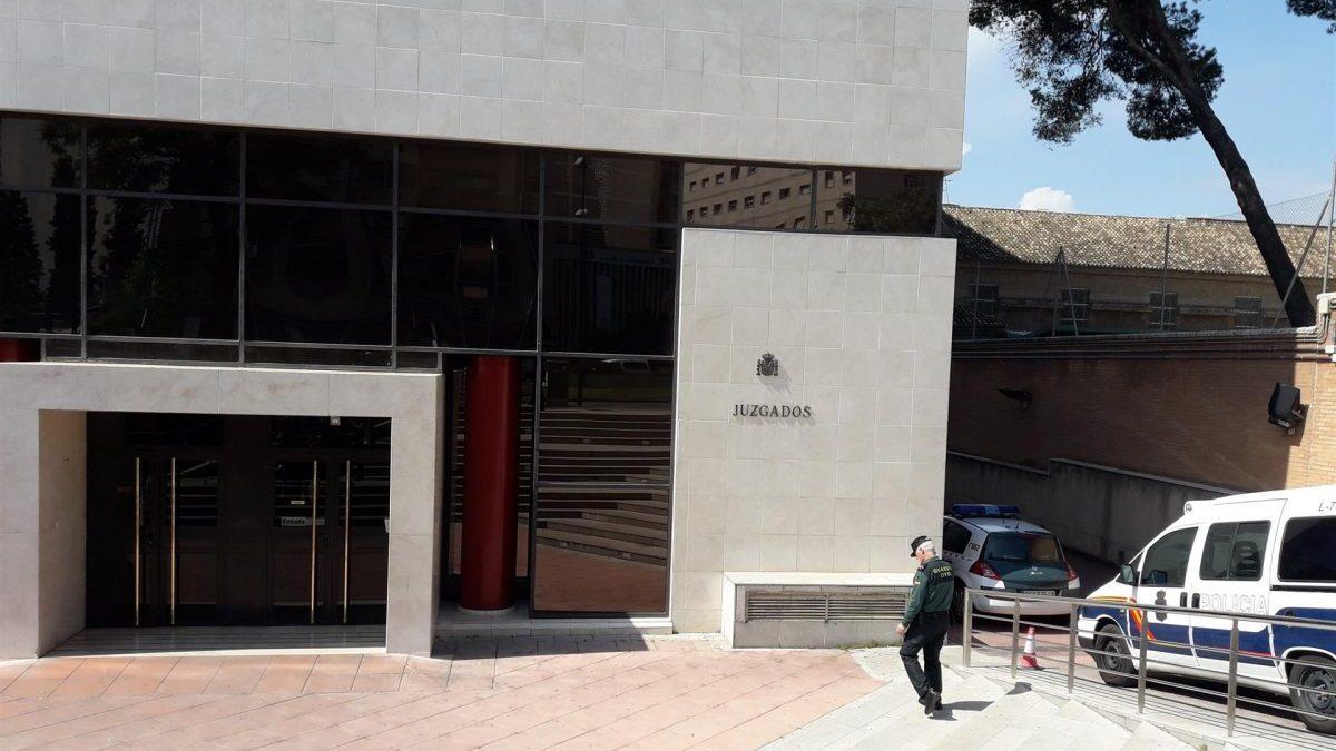 Edificio judicial de La Caleta (Foto: Europa Press).