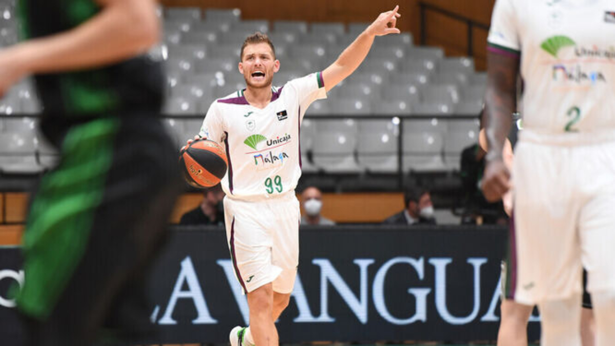 Gal Mekel, jugador del Unicaja (ACB Photo)