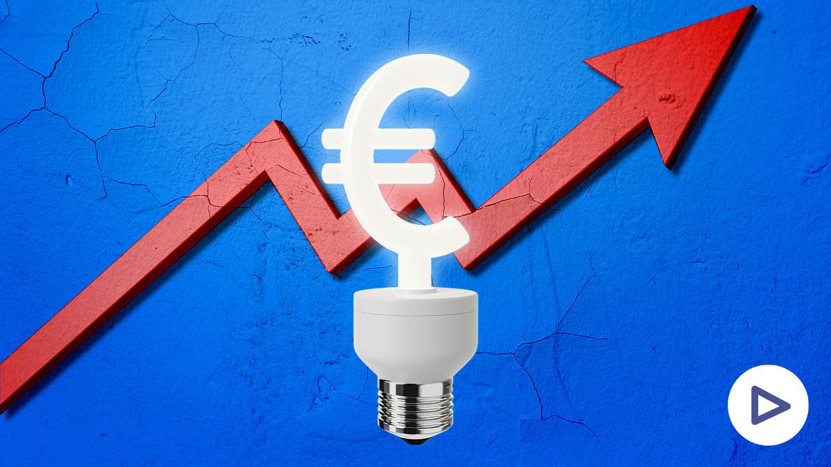 El precio de la luz vuelve a duplicarse en un día: crece un 110% tras el desplome que sufrió por Filomena
