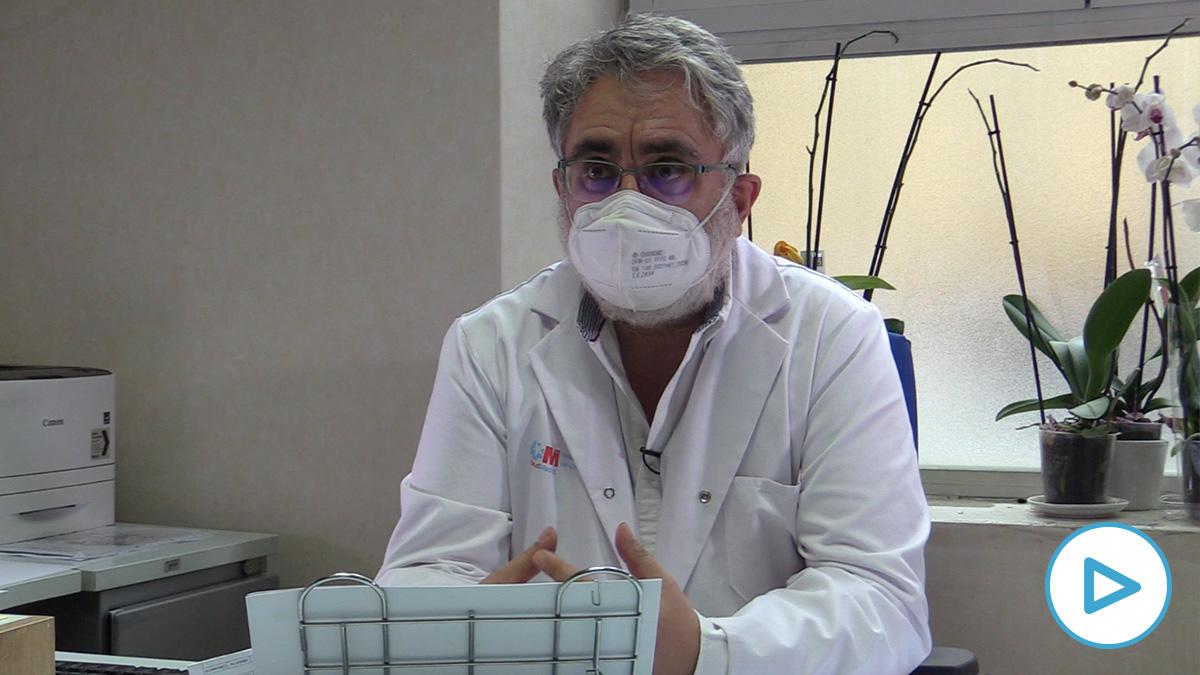 Eduardo Raboso: «El Zendal permite al resto de hospitales de Madrid seguir atendiendo pacientes no Covid»