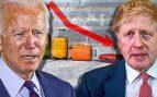 El turismo no levanta cabeza: las restricciones de Biden y Johnson hunden al sector en Bolsa