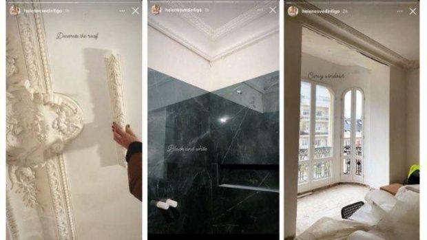 L'impressionnant appartement de 2 millions d'euros que Figo et sa femme réforment et redécorent pour emménager?