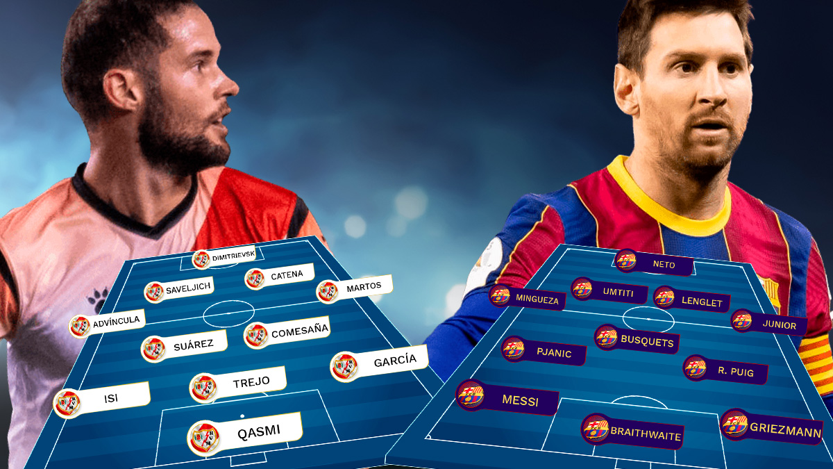 Rayo Vallecano – Barcelona: Messi vuelve al barro