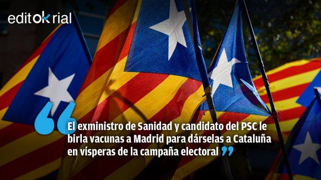 El arma secreta de Illa en Cataluña: vacunas por votos