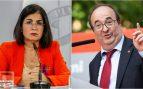 Darias e Iceta, nuevos ministros de Sanidad y Política Territorial y Función Pública.