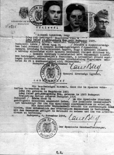 El Ángel de Budapest: el diplomático español que salvó a 5.000 judíos en la II Guerra Mundial