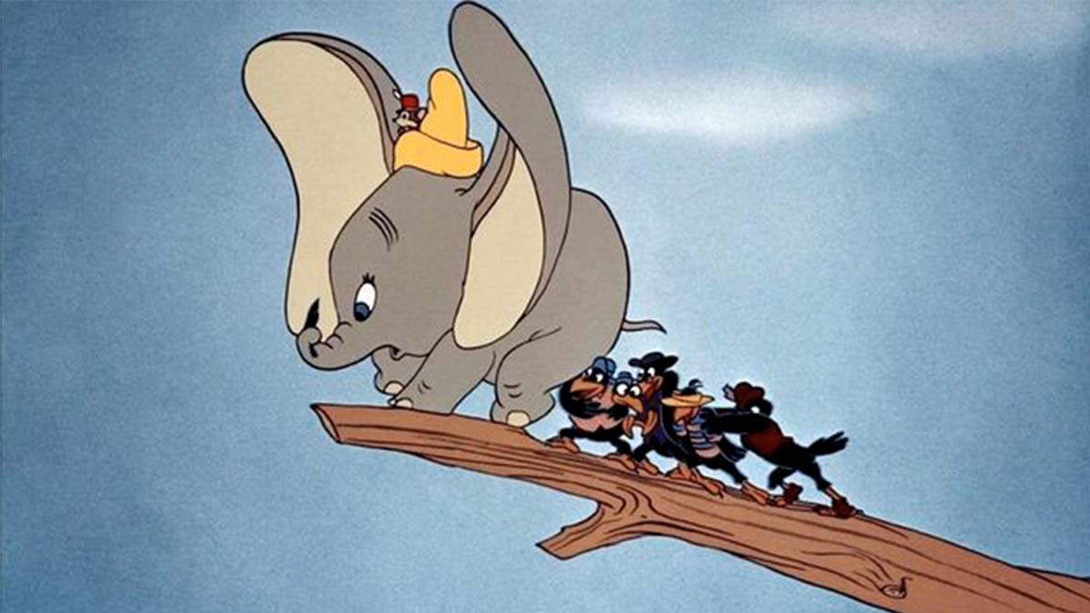 Imagen de la película de Dumbo