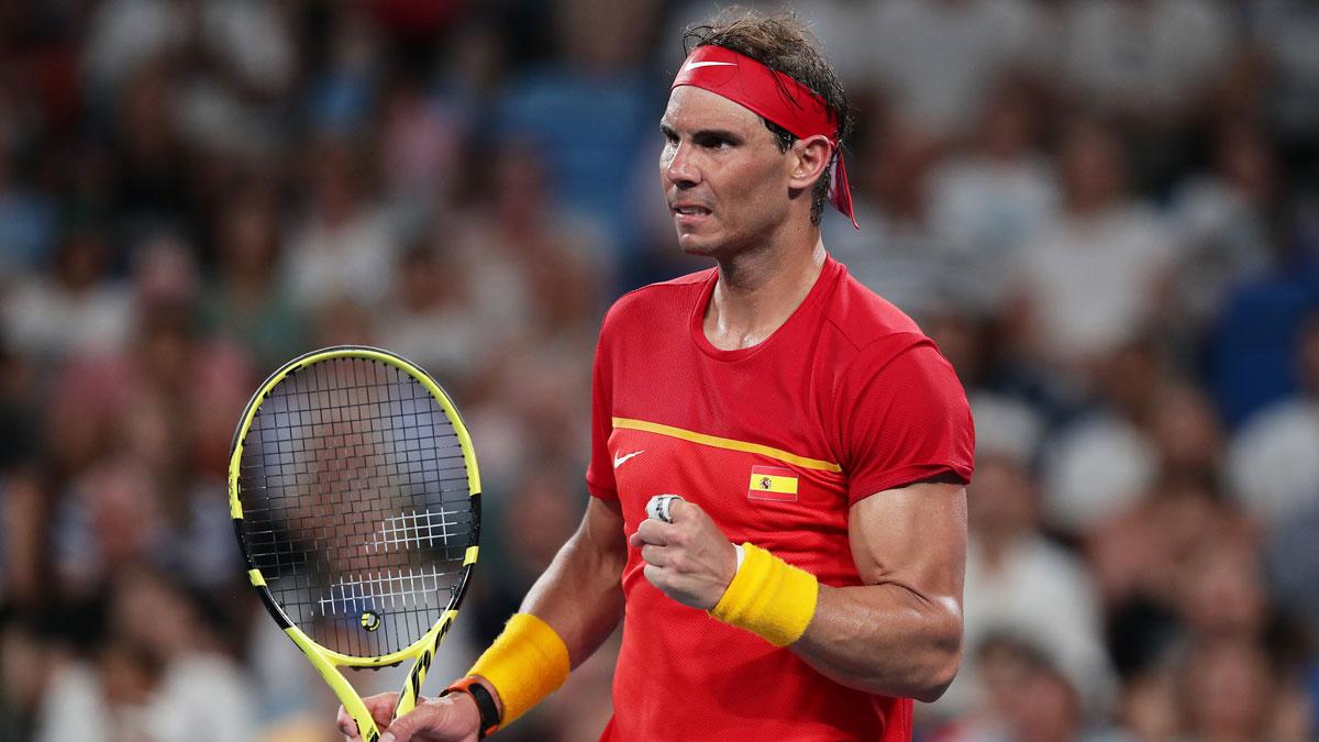 Nadal lidera el equipo de España en la ATP Cup 2021 (Getty)