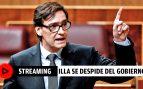 Sigue en streaming la despedida de Salvador Illa en la rueda de prensa del Consejo de Ministros