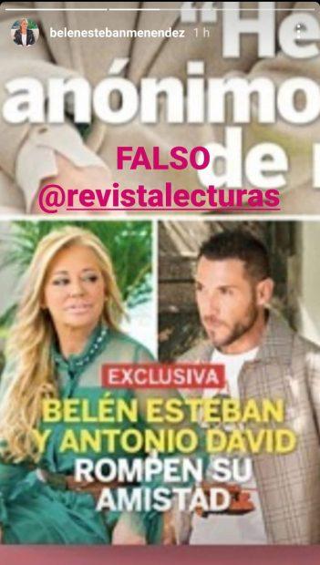 Belén Esteban en Instagram