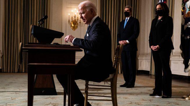Joe Biden, presidente de Estados Unidos (Foto: AFP)