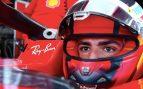 Carlos Sainz ya rueda con el Ferrari