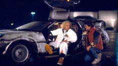 DeLorean de 'Regreso al futuro' (