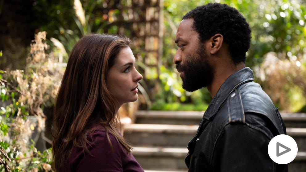 HBO estrena 'Confinados': Anne Hathaway y Chiwetel Ejiofor deciden terminar su relación en lo peor la pandemia