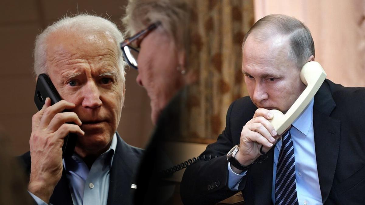 Biden y Putin mantuvieron su primera conversación telefónica como presidentes.