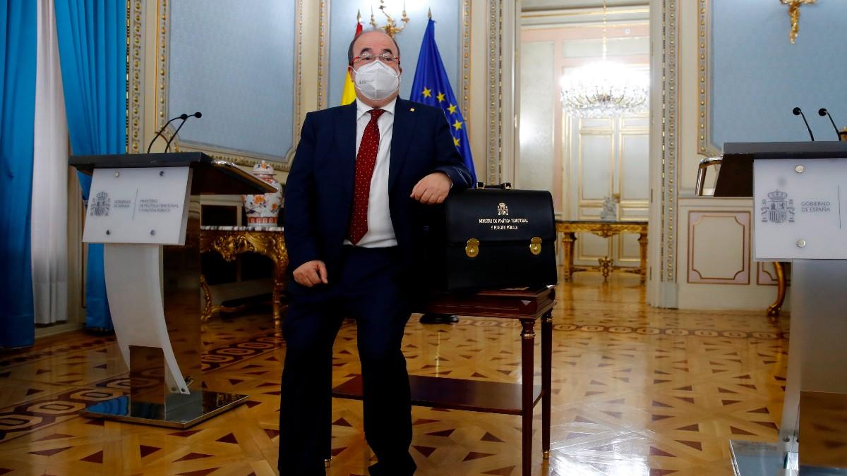 Miquel Iceta, ministro de Política Territorial. Foto: EFE