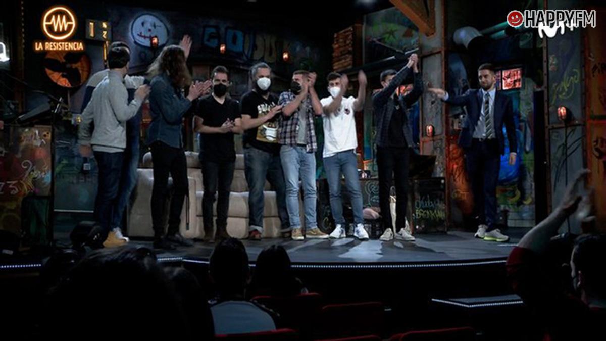 """'La Resistencia': La M.O.D.A cuela a un """"impostor"""" en su entrevista"""