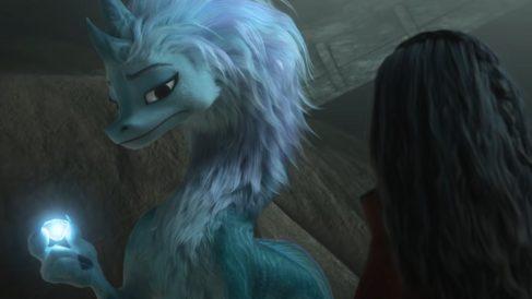 'Raya y el último dragón' de Disney (Fuente: Tráiler 'Raya y el último dragón' de Disney)