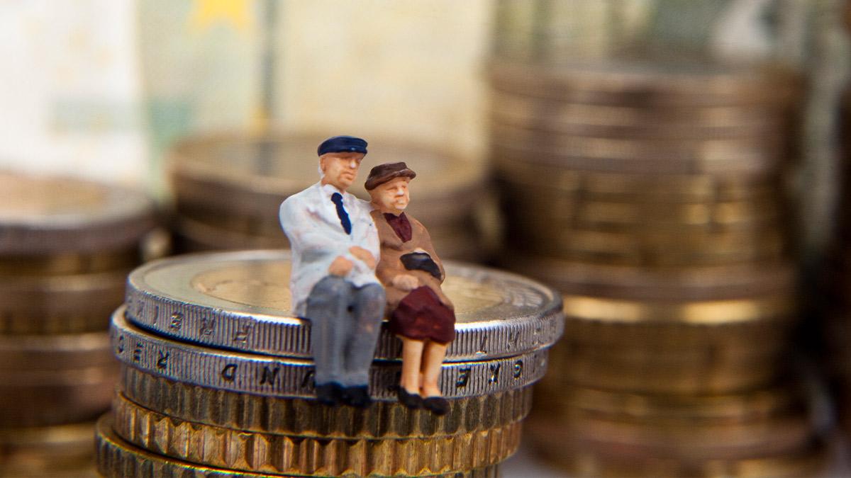 Déficit en el sistema de pensiones.