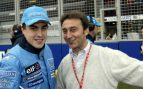 Fernando Alonso y Adrián Campos