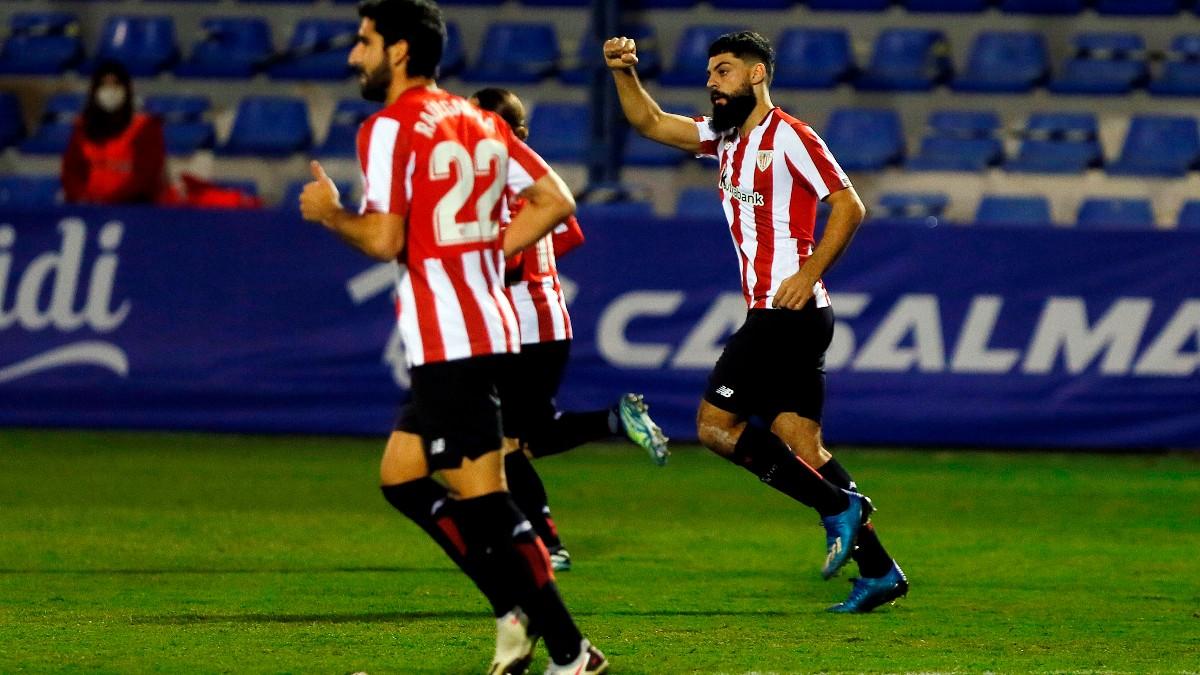 El Athletic Club venció al Alcoyano en Copa del Rey. (EFE)