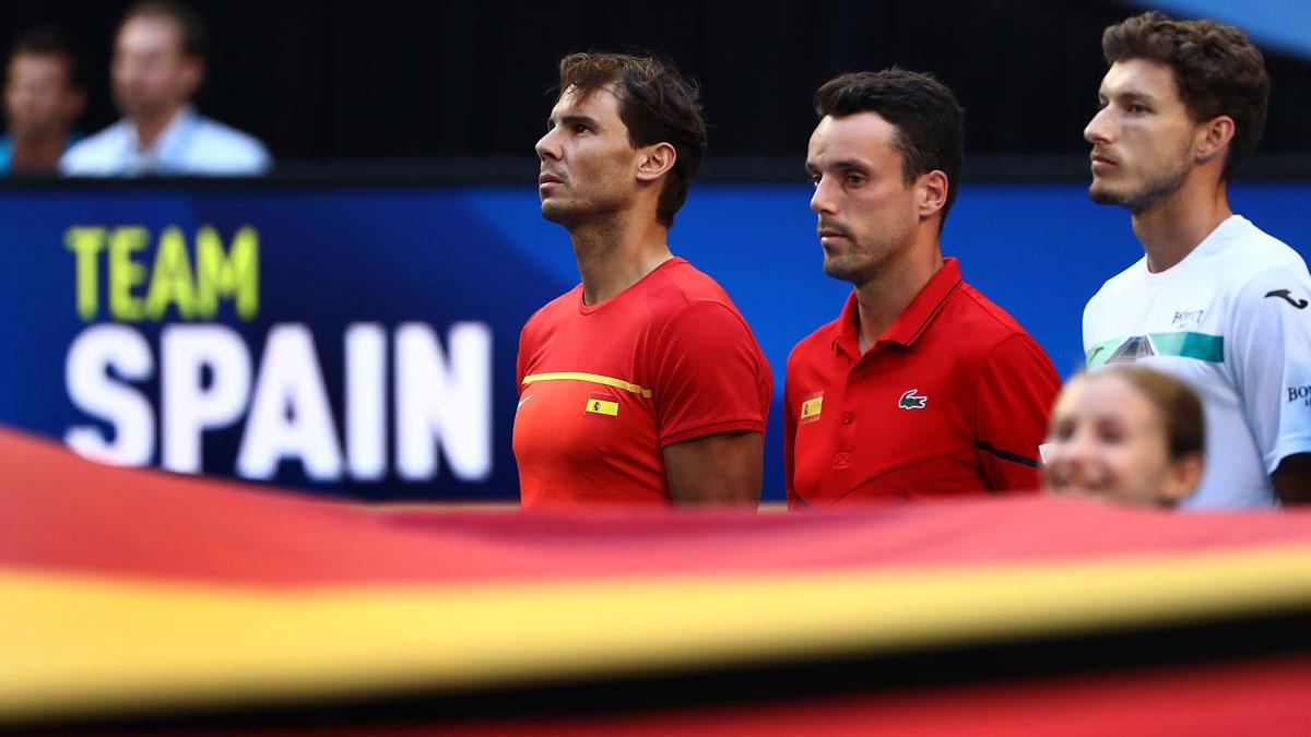 Dónde ver a España en la ATP Cup (Getty)