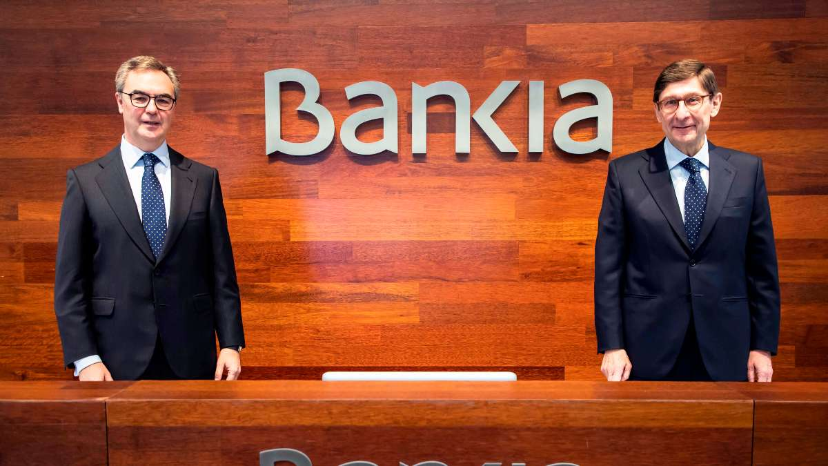 José Ignacio Goirigolzarri y José Sevilla, presidente y CEO de Bankia