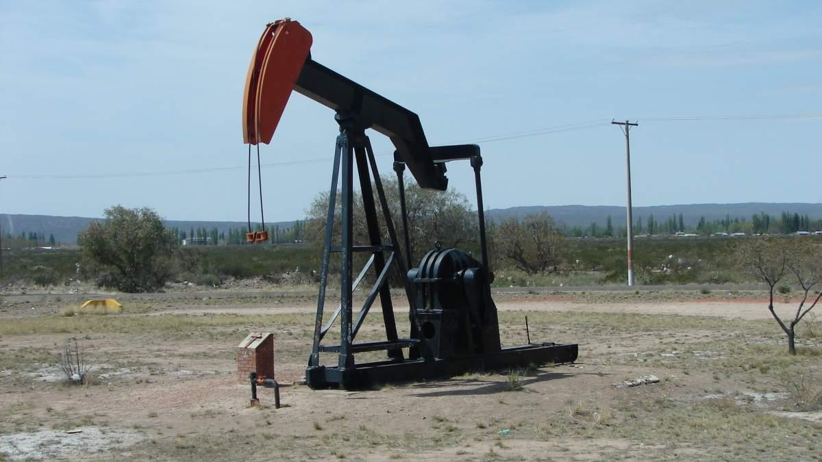 Presencia de petróleo