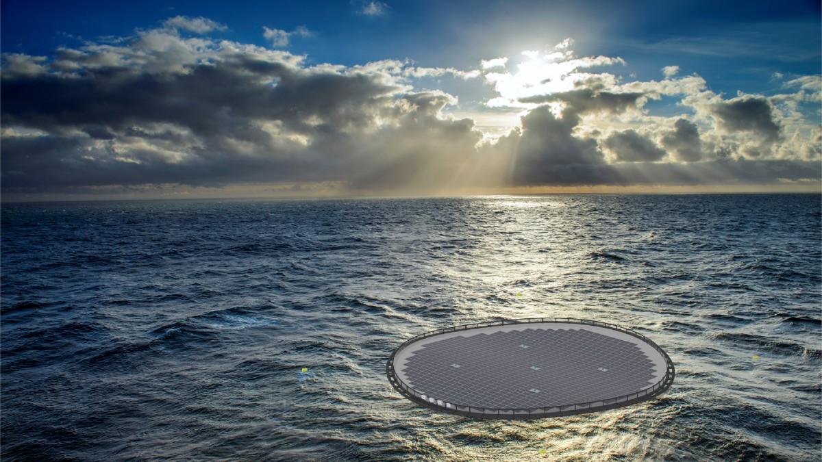 Energía fotovoltaica flotante