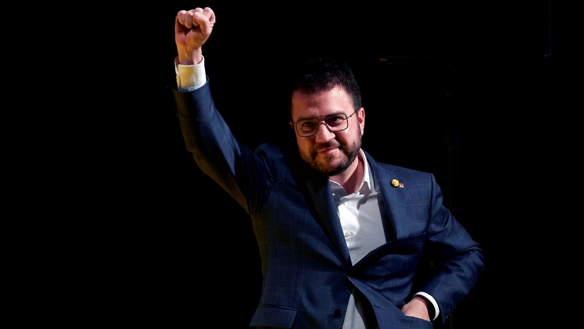 El candidato de ERC, Peré Aragonés. Foto: EFE
