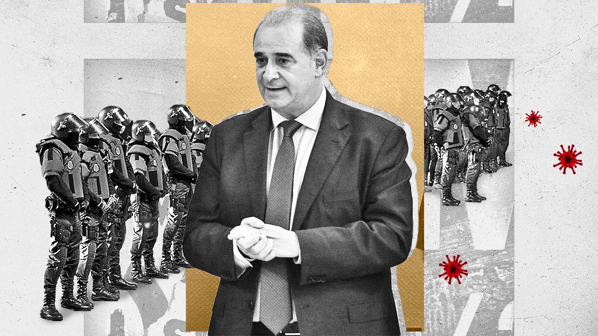 El director general de la Policía, Francisco Pardo, imputado por presunto delito contra la seguridad de los agentes.