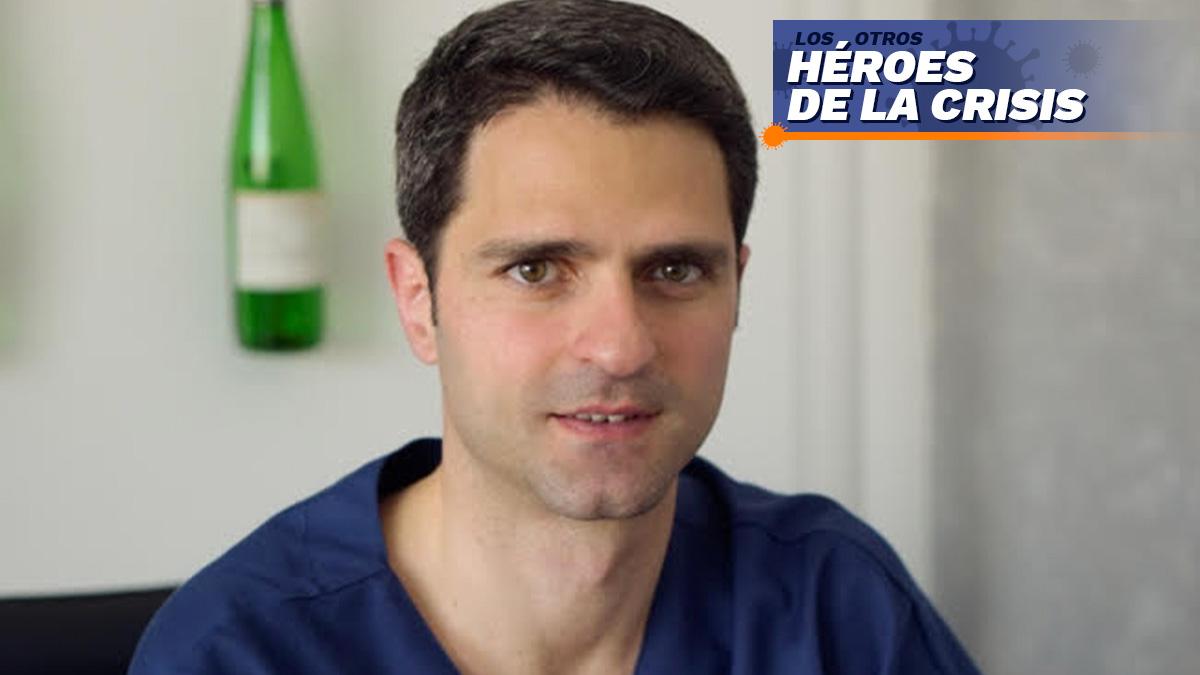 Javier Urresti, fisioterapeuta y cofundador de Virtual Fisio.