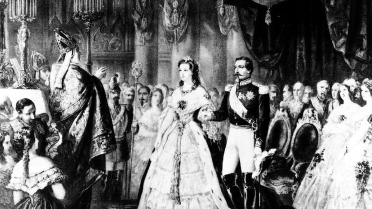 Napoleón III y Eugenia de Montijo