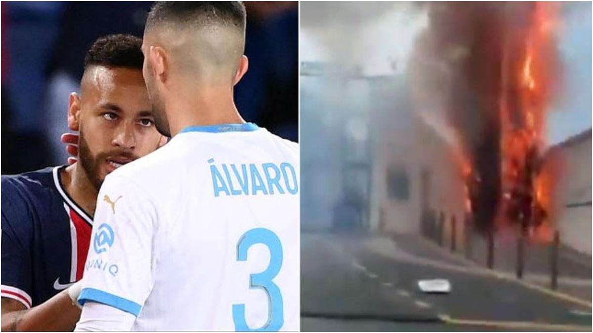 Álvaro González y las imágenes que llegan desde Marsella.