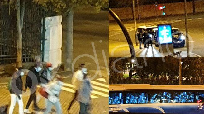El Gobierno de Sánchez suelta a otros 25 inmigrantes ilegales en Sevilla de madrugada y a escondidas.