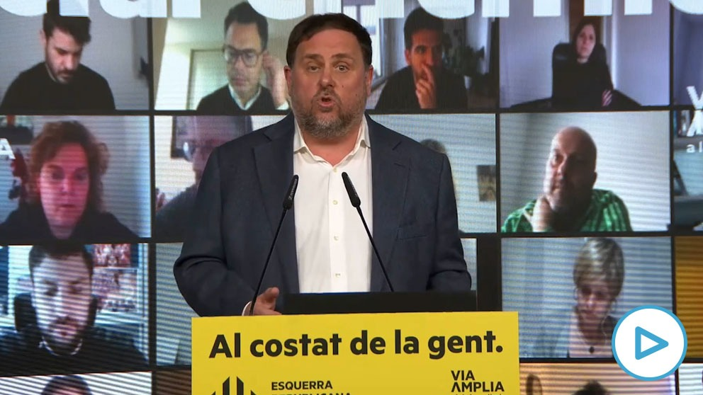 El líder de ERC y ex vicepresidente de la Generalitat Oriol Junqueras.