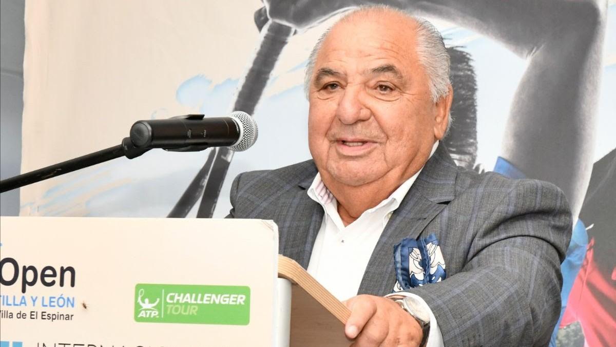 Pedro Muñoz, en una comparecencia. (El Espinar)