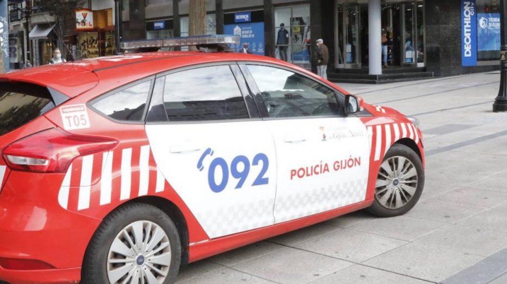 Policía Gijón