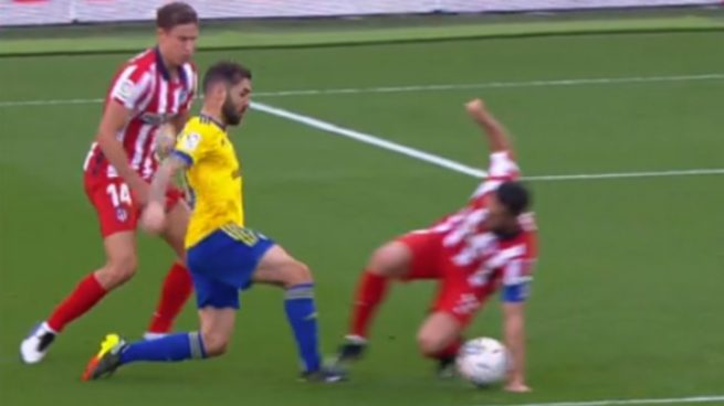 Koke penalti Atlético