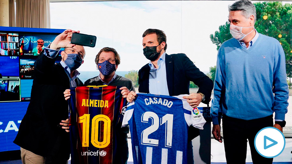 Pablo Casado, Albiol, Martínez-Almeida y Fernández