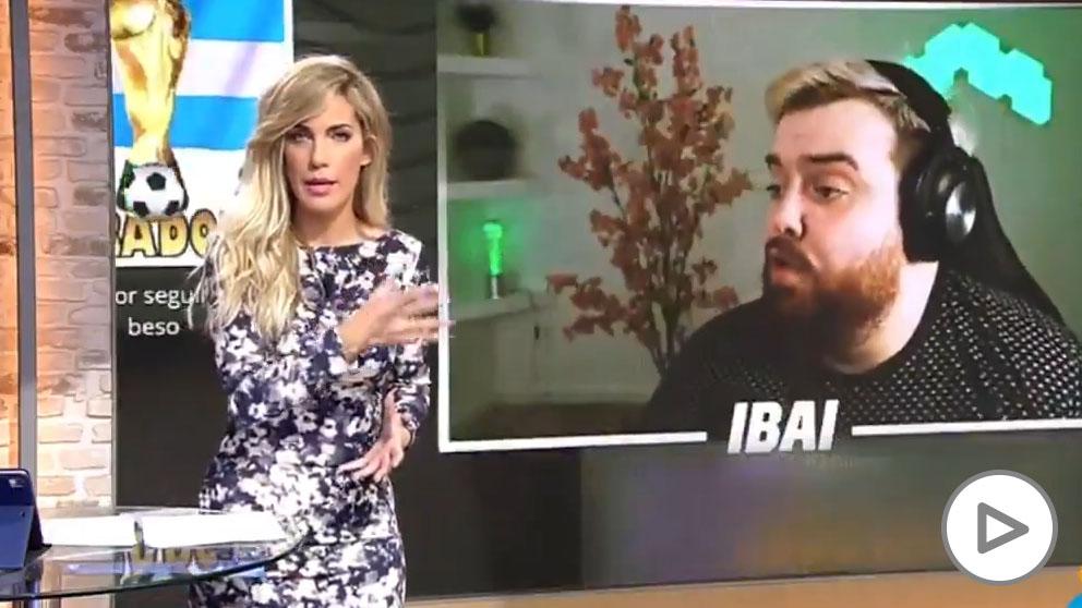 """Una presentadora bautiza a Ibai como """"Ibai Ramos"""" copia"""