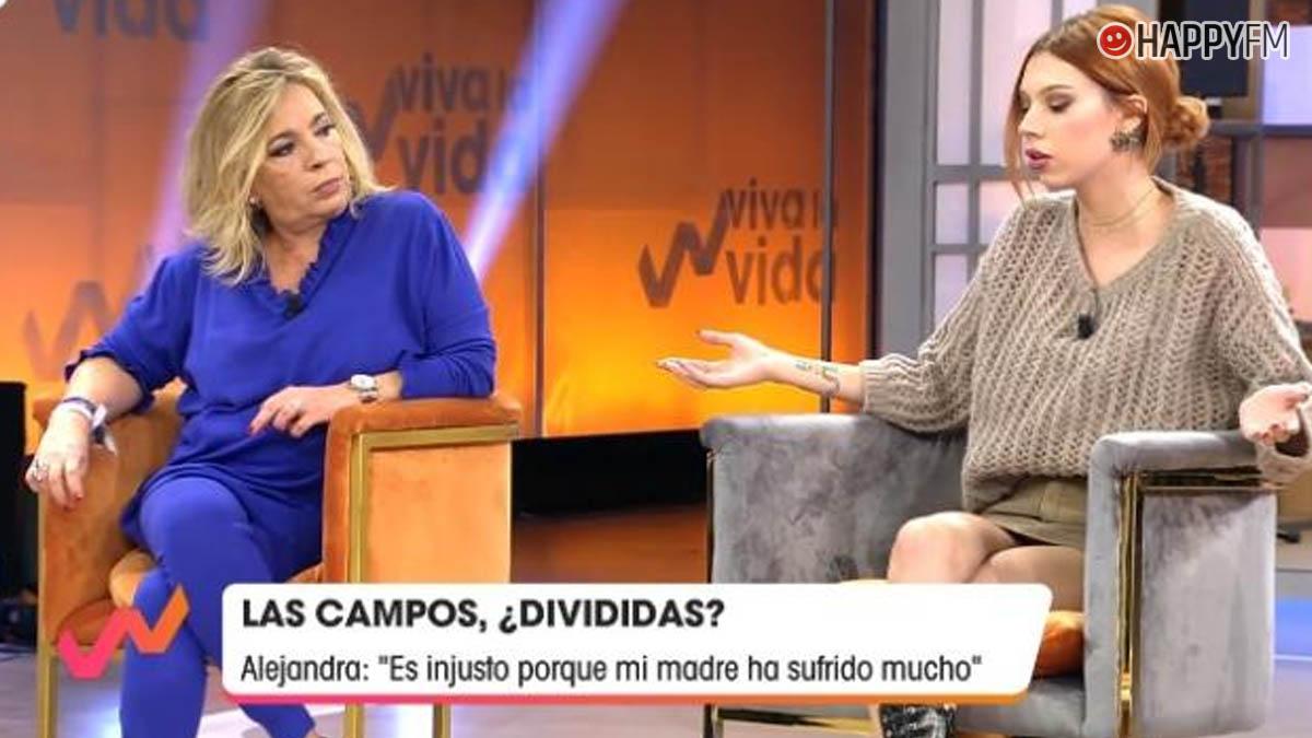 Carmen Borrego y Alejandra Rubio