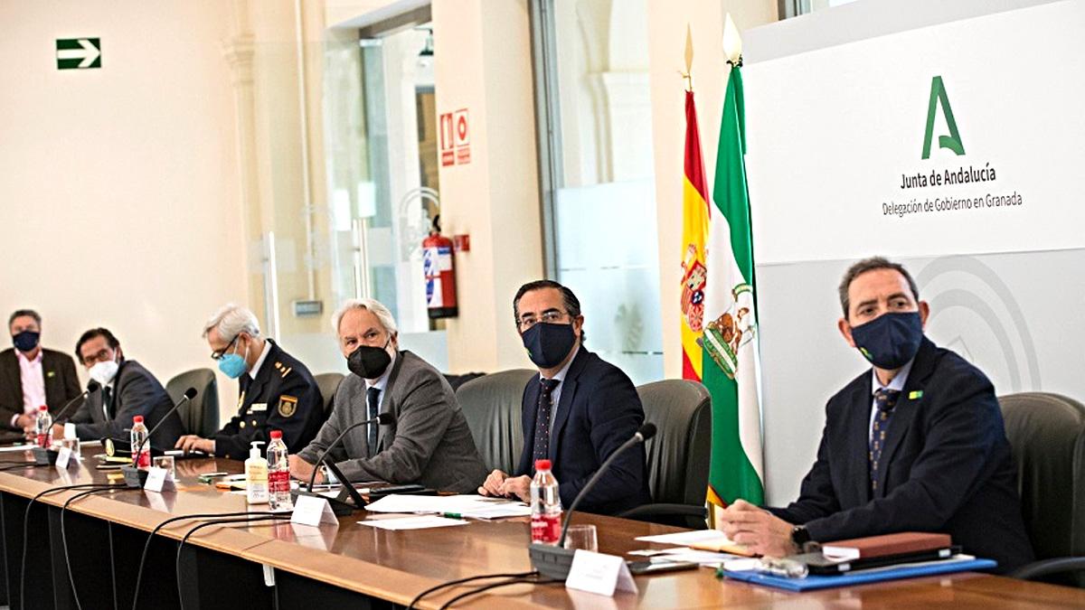 Reunión del Comité Asesor provincial del Plan de Emergencia ante el Riesgo Sísmico.