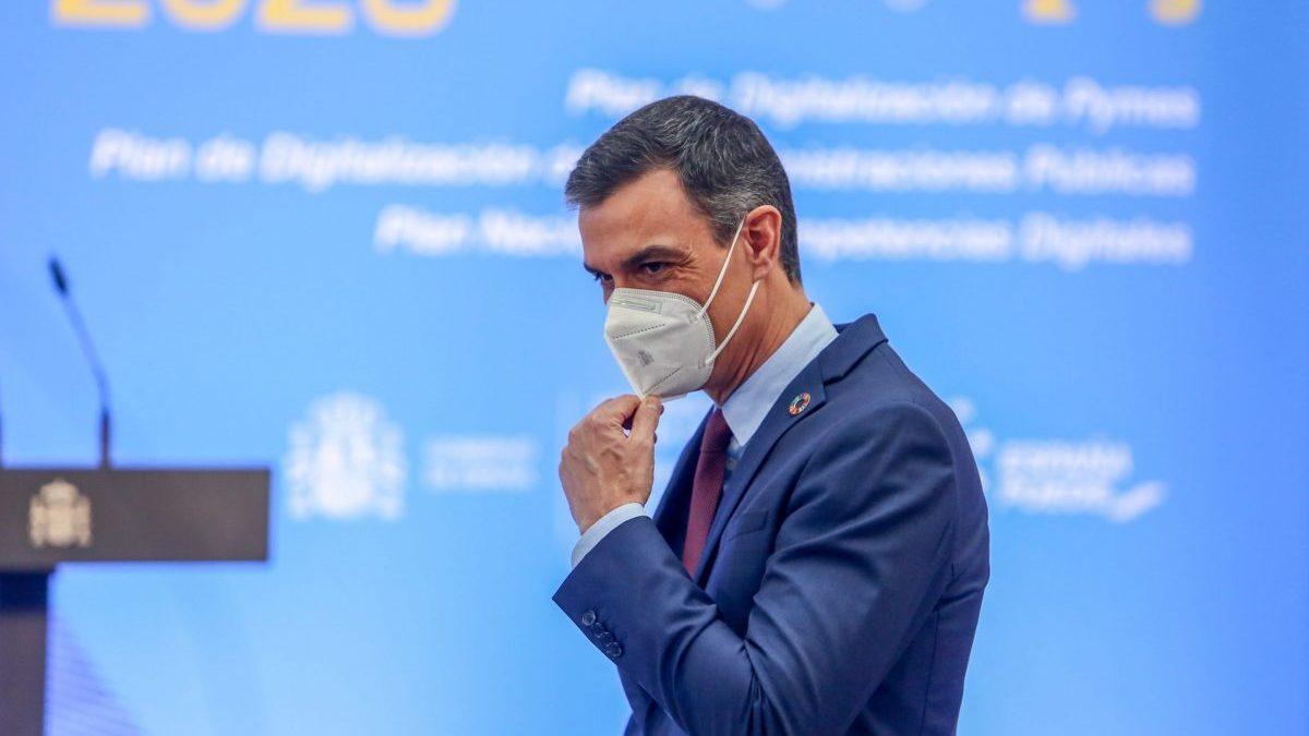 El presidente del Gobierno, Pedro Sánchez, durante un acto. (Europa Press)