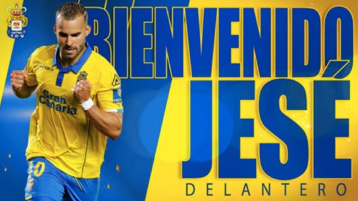 Jesé, nuevo jugador de Las Palmas.