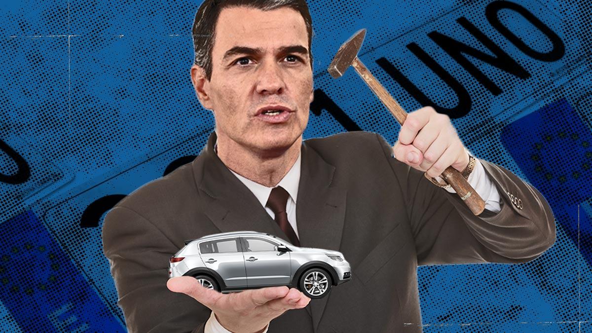 El hachazo fiscal de Sánchez al automóvil dispara un 30% la recaudación.